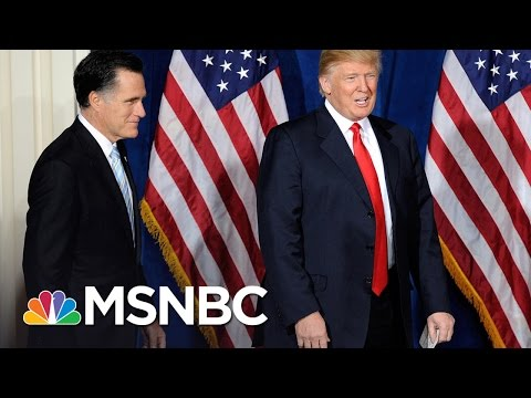 Mitt Romney Considered For Secretary Of State | MSNBC