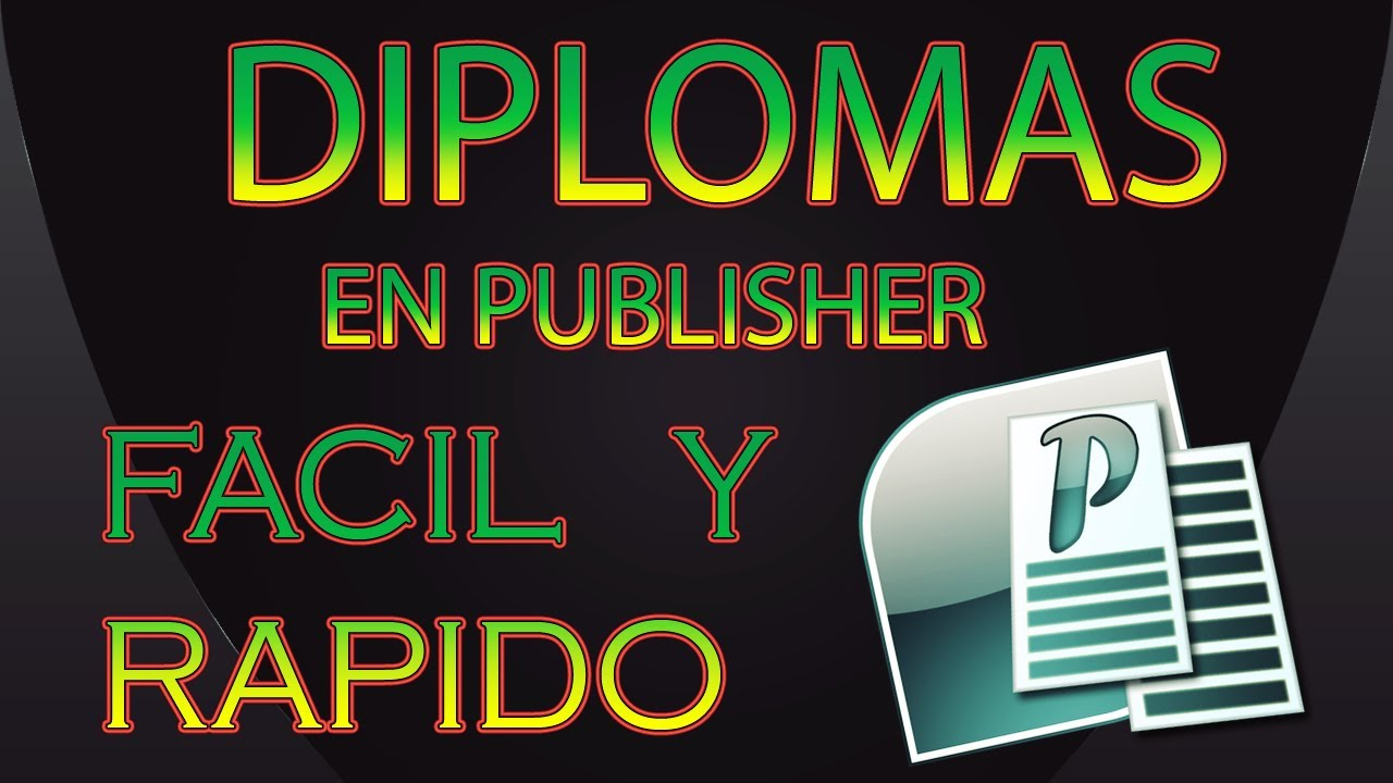 Diploma De Reconocimiento Para Editar