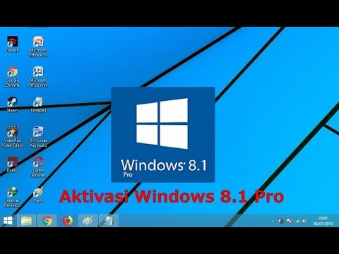 Aktivasi Windows 8 Pro Build 9200 + Crack.