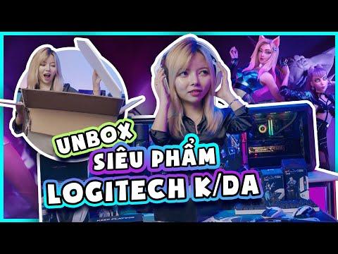 CẦU ĐƯỢC ƯỚC THẤY - UNBOX SIÊU PHẨM LOGITECH K/DA