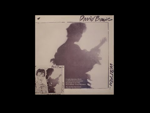 David Bowie Radio Special Scary Monsters 1980 RCA Promo Interview US Vinyl LP