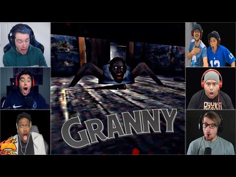 Gamers Reactions to the Granny JUMPSCARE | Granny