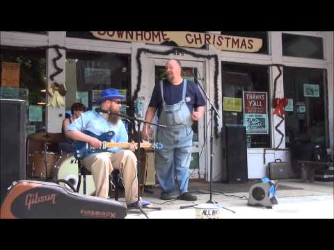 All Night Long Blues Band - Shake 'Em On Down - Clarksdale Caravan Music Festival 2013