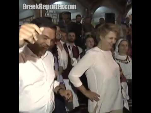 PM Alexis Tsipras Greek dancing