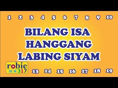 Bilang Isa Hanggang Labing Siyam   Tagalog Number Song   Awiting Pambata