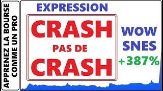 C'EST QUOI L'EXPRESSION CRASH PAS DE CRASH AVEC DANY MURRAY TRADER