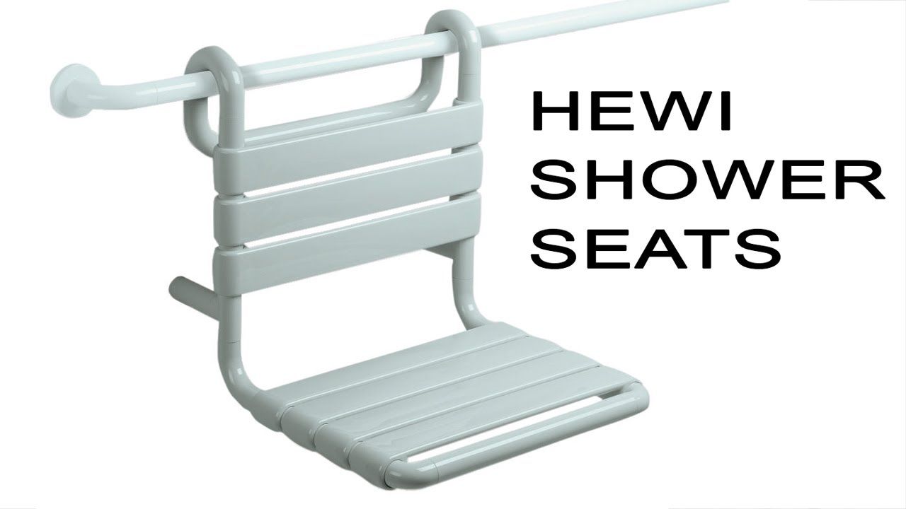 Handicap Bathroom Video On Facebook hewi ada shower seats | handicap accessible bathroom safety - youtube