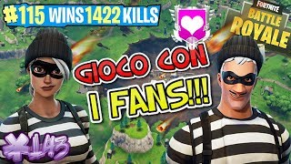 🔴 FORTNITE LV.73 GAME WITH ALL FANS!!! | NEW SKIN FURFANTE!!! | WIN 10TH BATTLE PASS!!