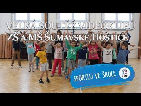 Sportuj ve škole - ZŠ a MŠ Šumavské Hoštice