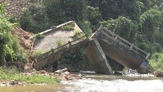 Tin Tức 24h Mới Nhất Hôm Nay : Tuyên Quang  Cầu gãy hơn một năm vẫn chưa được khắc phục