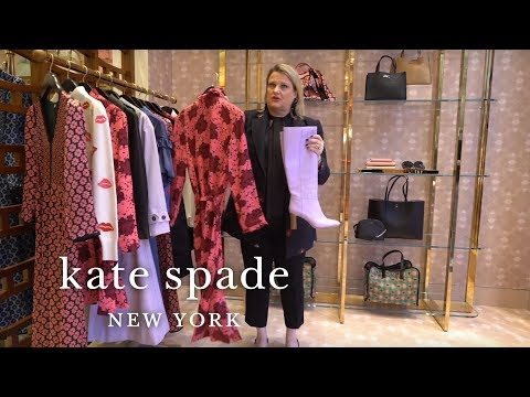 pretty, new spring 2019 clothing | talking shop | kate spade new york