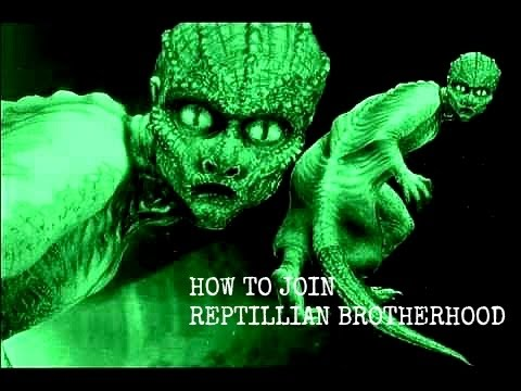 How to Join the Reptillian Brotherhood