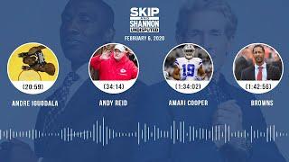Andre Iguodala, Andy Reid, Amari Cooper, Browns (2.6.20)   UNDISPUTED Audio Podcast