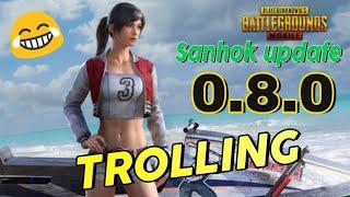 Pubg mobile || Sanhok || Update || Sanhok map update || Hindi/Urdu || trolling || Gaming tech gamers