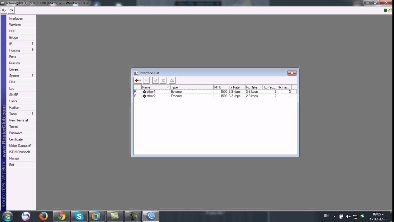 3- Firewall (Nat) and PPPoE Mikrotik