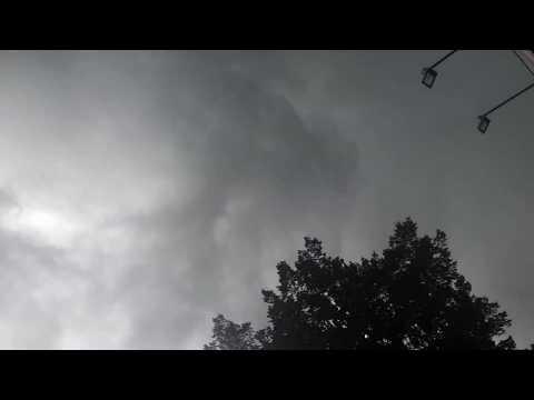 Ураган в Одессе 23.06.17. черная туча в Одессе