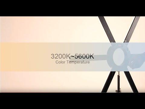 GVM 600S LED Ring Light with Detachable Light Bars