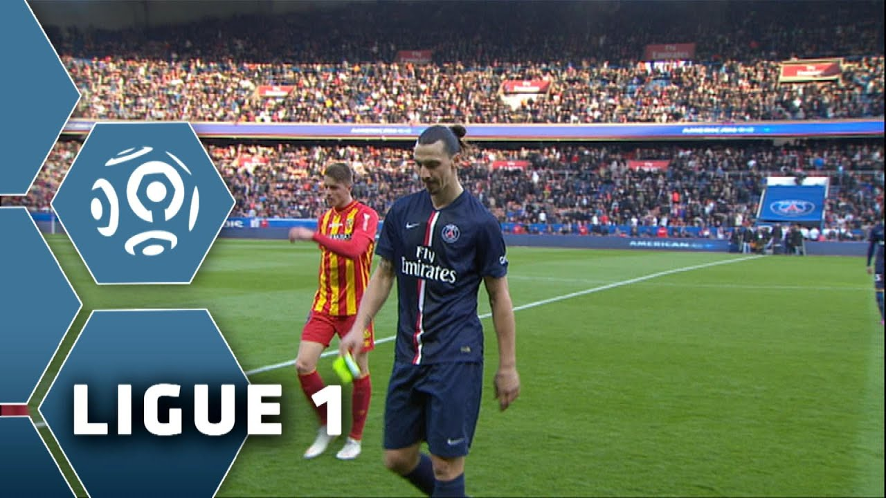 paris saint-germain - rc lens  4-1  - r u00e9sum u00e9 -  psg