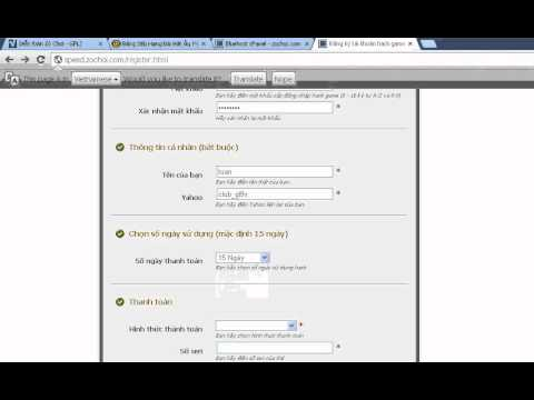 Hướng dẫn đăng ký tài khoản hack zing speed GPLZ - zochoi.com