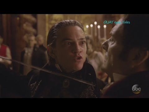 """Once Upon A Time 6x02 Count of Monte Cristo Stabs Baron & Meets Evil Queen  """"A Bitter Draught"""" HD"""