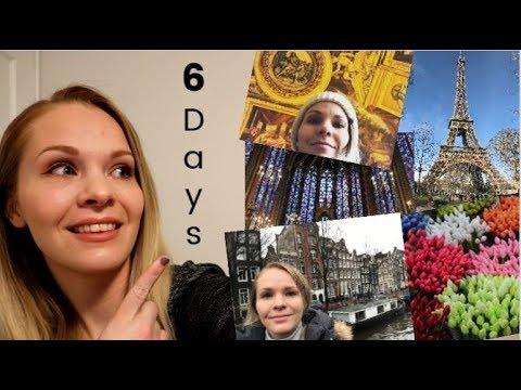 Paris, Amsterdam and Helsinki - My Crazy 6 Day Trans-Atlantic Trip