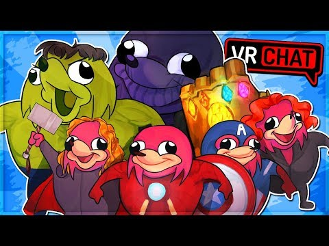 UGANDAN KNUCKLES INFINITY WAR! Avengers Knuckles (VRChat Funny Moments)