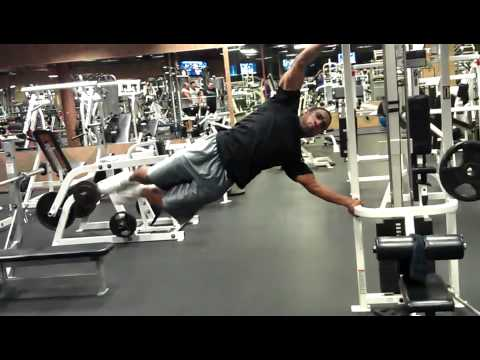 flag pole push ups - youtube, Muscles