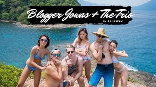 Blogger Jowas + The Trio in Palawan | Kryz Uy
