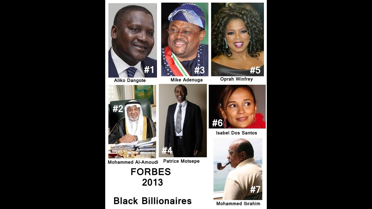 billionaires prefer black women