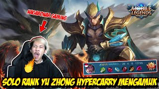 YU ZHONG HYPERCARRY MENGAMUK DI LAND OF DAWN!  - Mobile legends
