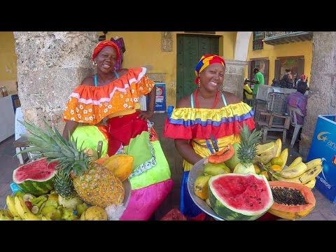 A Day in Lovely CARTAGENA, Colombia
