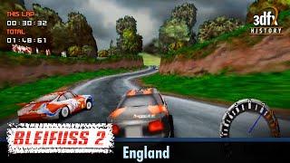 3dfx Voodoo 1 - Bleifuss 2 / Screamer 2 - England [Gameplay]