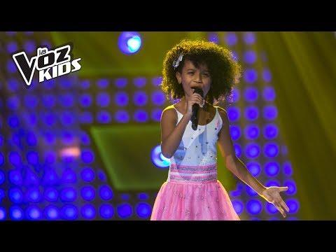 Azuquitar canta Amor Eterno - Audiciones a ciegas | La Voz Kids Colombia 2018