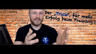 """Der """"Trick"""", für mehr Erfolg beim Training - Stößlein #BSPT"""