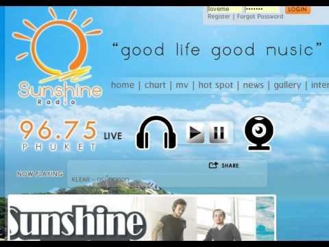 ธนนท์ - โปรโมทเพลงหัวใจมีสายเรียกซ้อน Sunshine Radio Phuket