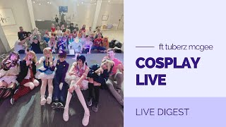 【A-MUSE】COSPLAY LIVE FT. Tuberz McGee 【15.05.21】LIVE DIGEST