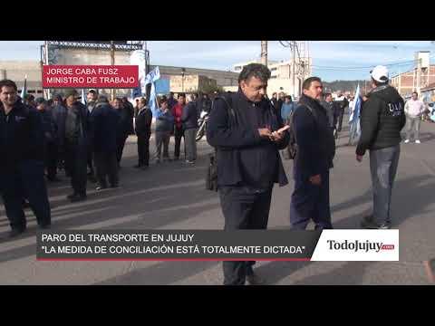 DECLARACIONES DEL MINISTRO DE TRABAJO: JORGE CABANA FUSZ