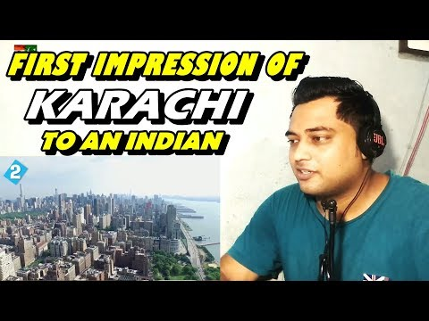 First Impression of KARACHI to an INDIAN thumbnail