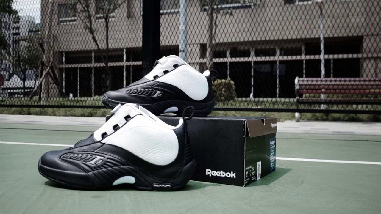 1792650db9d22a Reebok Answer IV Stepover - YouTube