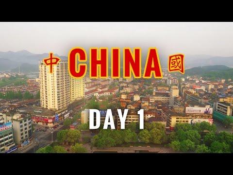 China Vlog Day 1 // Flying into Shanghai // 2017.4.21 Friday