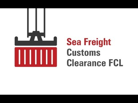 Sea Freight Customs Clearance FCL