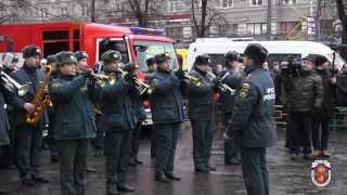 В Москве состоялось прощание с погибшими огнеборцами