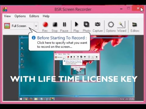 bsr screen recorder with serial key