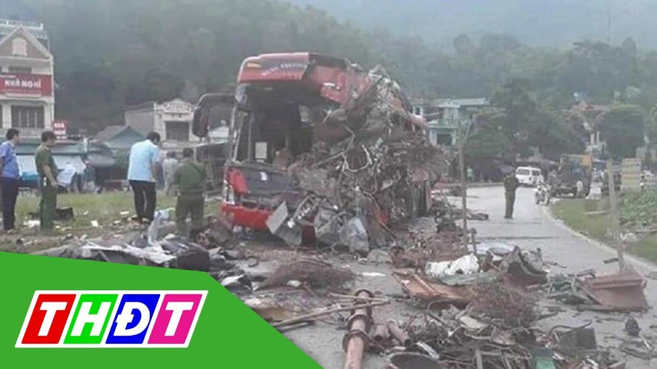 Xuất hiện clip về tai nạn giao thông kinh hoàng ở Hòa Bình   THDT