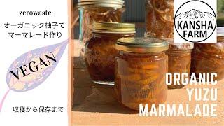 【Recipe】ZERO WASTE Yuzu Marmalade 柚子丸ごとマーマレード