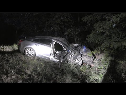 Serious single vehicle crash entraps driver on Highway 48 in Chattooga County