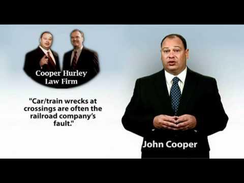 Virginia Beach Injury Attorney John Cooper – Cars Involved in Train Wrecks