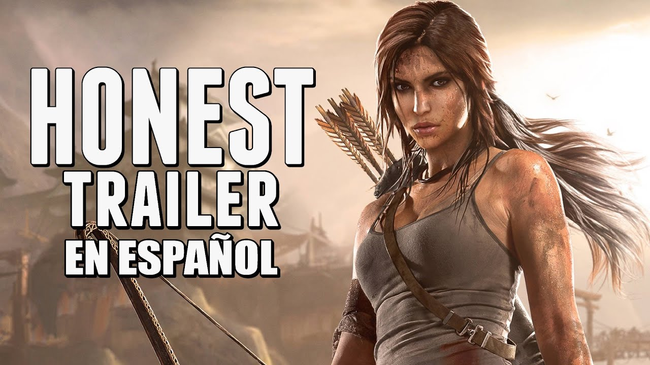 tomb raider honest game trailers en espa241ol youtube