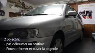Réparation serrure voiture pas cher