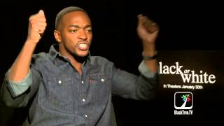 BLACK OR WHITE | Anthony Mackie gets passionate on 'race'